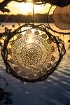 Sea Gypsy Dream Catcher Natural Vine and crochet