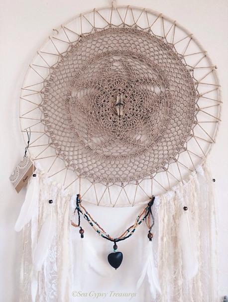Fabric Hoop Sea Gypsy Treasure
