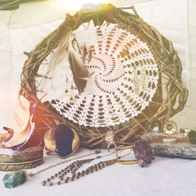 Sea Gypsy Treasures Earthed Dreamer with Bahgsu Jewels